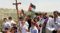 christian children in palestine