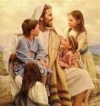 Jesus and little children